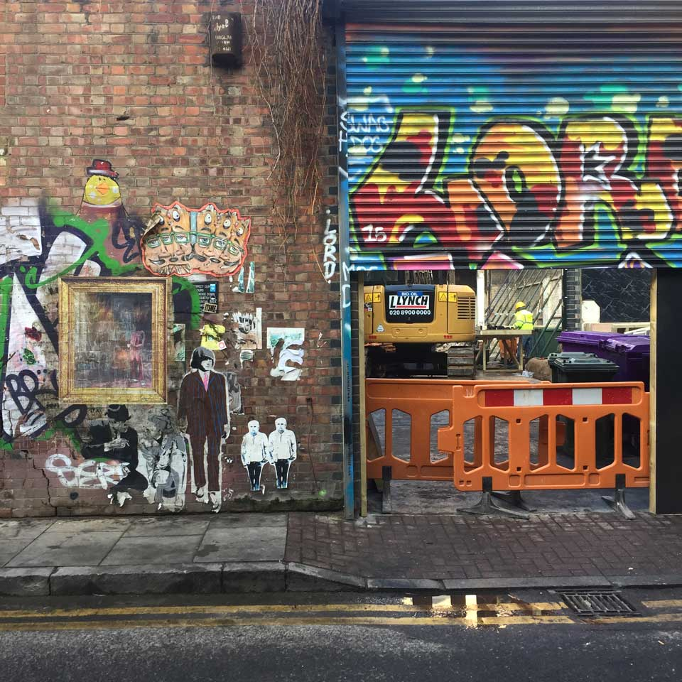 Shoreditch Hoarding Image