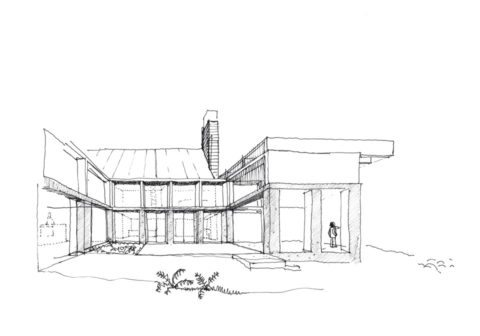 House in Oregon_44_1707_3144Architects_Sketch1