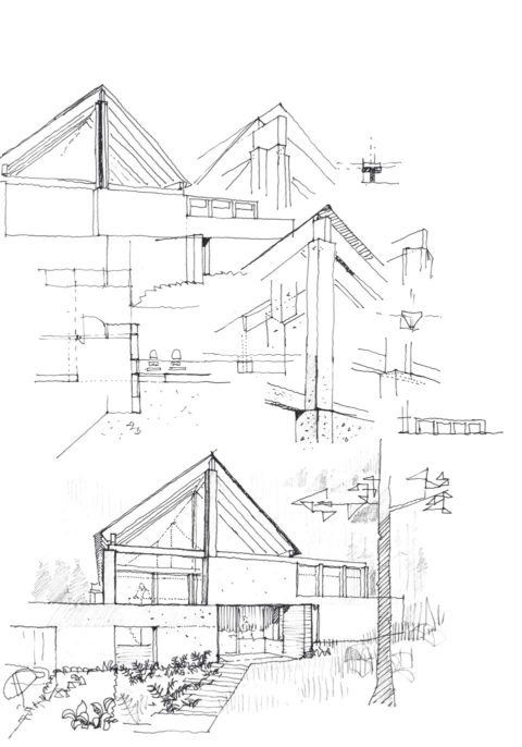 House in Oregon_44_1707_3144architects_Sketch3